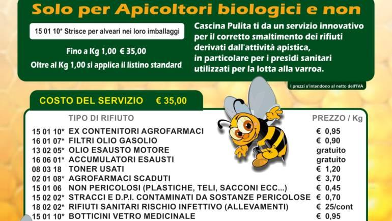 Smaltimento contenitori e farmaci utilizzati in apicoltura