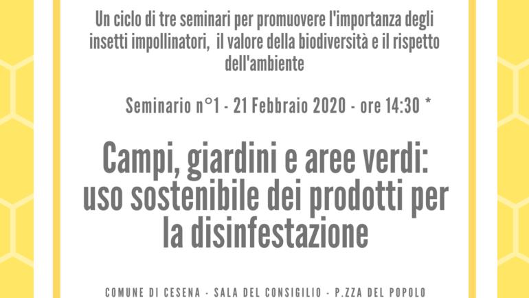 Seminario organizzato dal Comune di Cesena: venerdì 21/02/2020